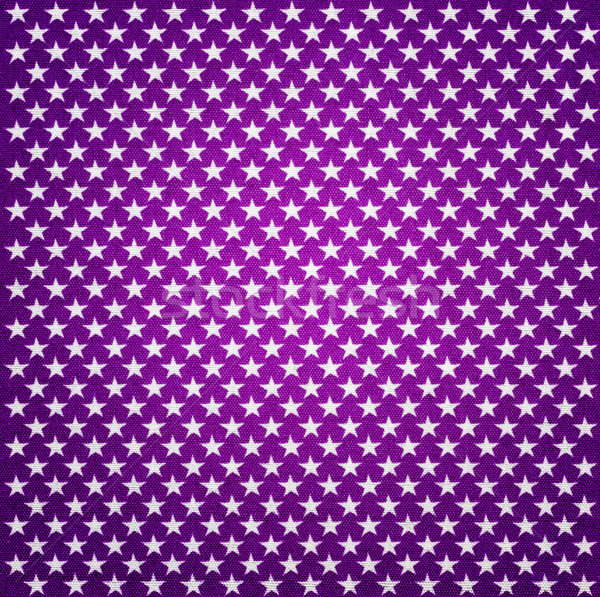 Purple fabric with white stars with vignette effect Stock photo © Zerbor