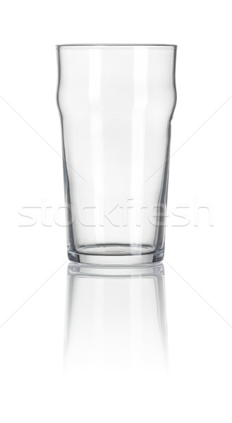 Pint glass on a white background Stock photo © Zerbor