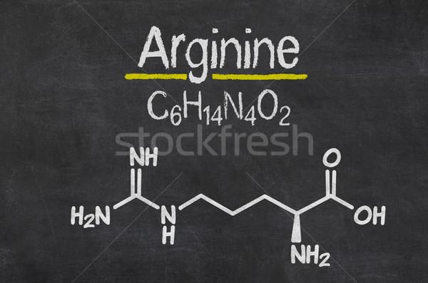 Pizarra químicos fórmula médicos tecnología medicina Foto stock © Zerbor