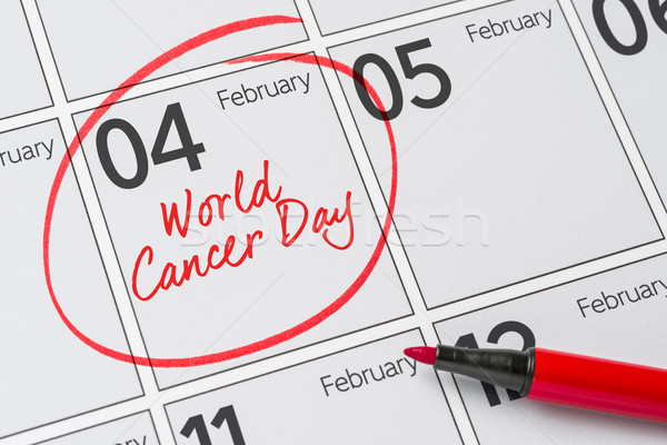 World Cancer Day, February 4 Stock photo © Zerbor