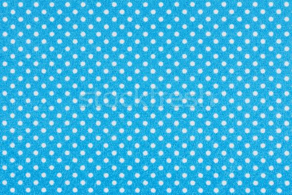 Jasnoniebieski tkaniny biały moda streszczenie Zdjęcia stock © Zerbor