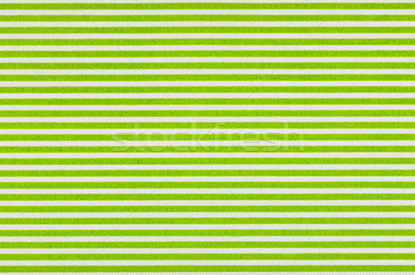 White fabric with green stripes Stock photo © Zerbor