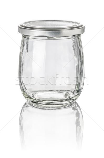 isolated glass jar Stock photo © Zerbor