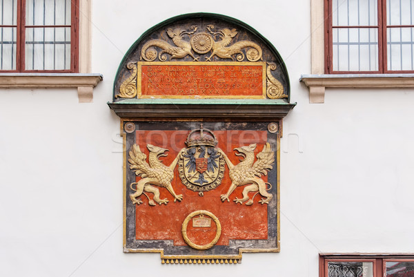 Detail of an architectural complex Hofburg Palace. Vienna. Austria Stock photo © Zhukow