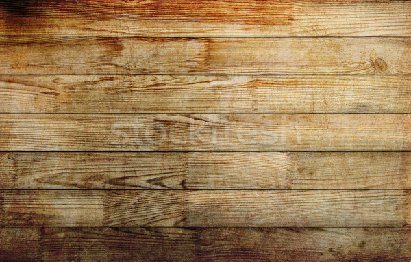 Wood grunge texture background, planed and glued boards Stock photo © Zhukow