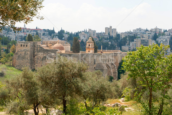 Monastery of the Cross in Jerusalem Stock photo © Zhukow