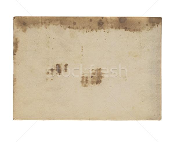 old photos on white background Stock photo © Zhukow