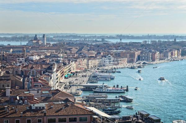 Beautiful water street - Gulf of Venice, Italy Stock photo © Zhukow