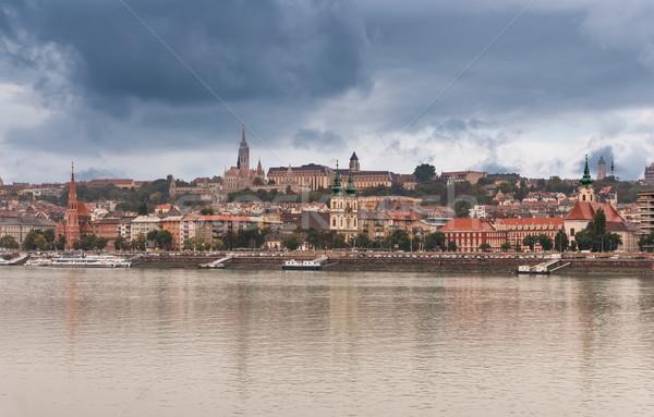 View  Buda side of Budapest Stock photo © Zhukow