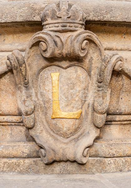 Dekorasyon detay Prag Çek Cumhuriyeti şehir Stok fotoğraf © Zhukow
