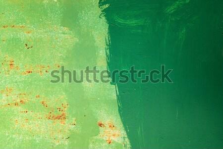 Abstrato verde cor metal construção projeto Foto stock © Zhukow
