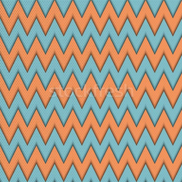 Végtelen minta absztrakt mértani textúra divat szövet Stock fotó © Zhukow