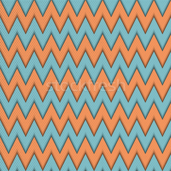 Seamless pattern with zig zag.  Stock photo © Zhukow