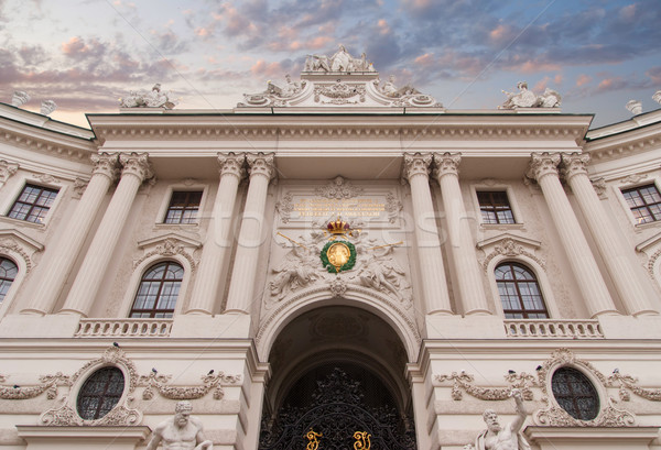 Hofburg palace, Vienna, Austria Stock photo © Zhukow