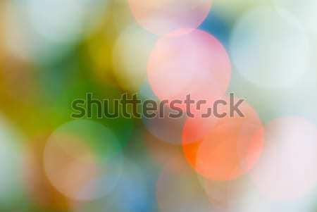 Defocused abstract lights christmas background Stock photo © Zhukow