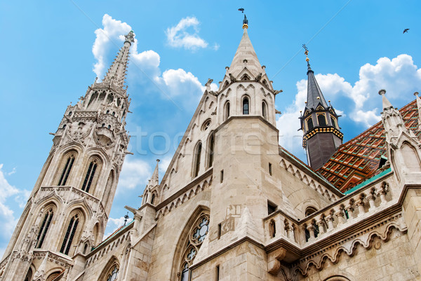 Roman Catholic Matthias Church in Budapest Stock photo © Zhukow