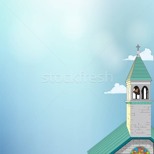 Picture of a Roman-Catholic church Stock photo © Zhukow
