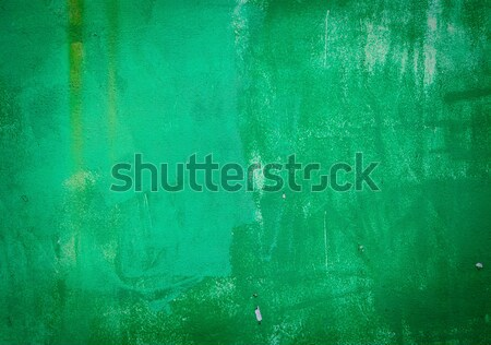 Abstract green color metal background Stock photo © Zhukow