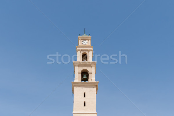 Igreja velho cidade Israel céu verão Foto stock © Zhukow