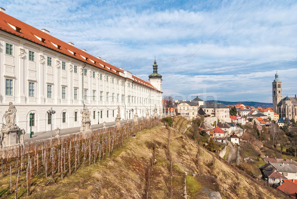 Jesuit College in Kutna Hora, Czech Republic Stock photo © Zhukow