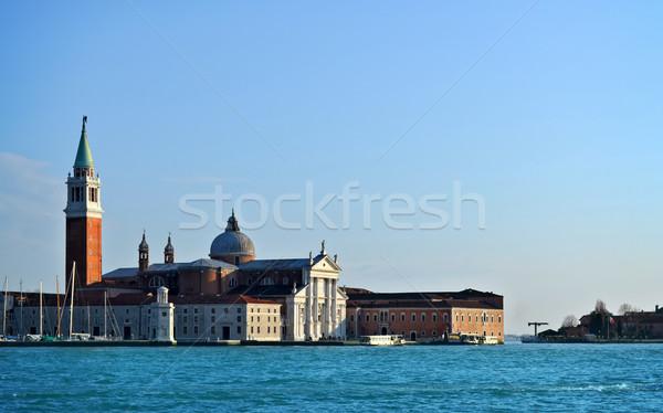 view to San Giorgio Maggiore Venice, Italy Stock photo © Zhukow
