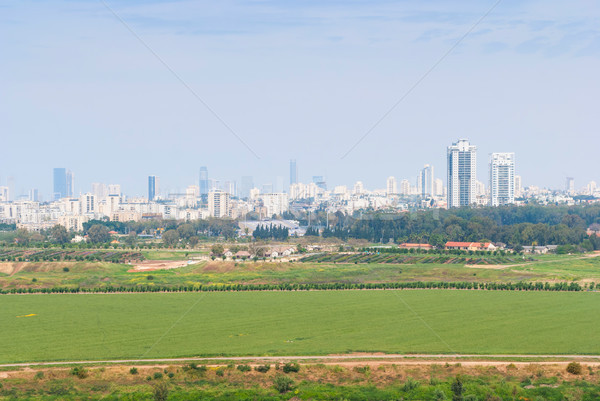 Tel Aviv from Ariel Sharon Park Stock photo © Zhukow