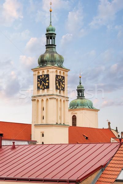 Church of St.James. Prague.  Czech Republic. Stock photo © Zhukow