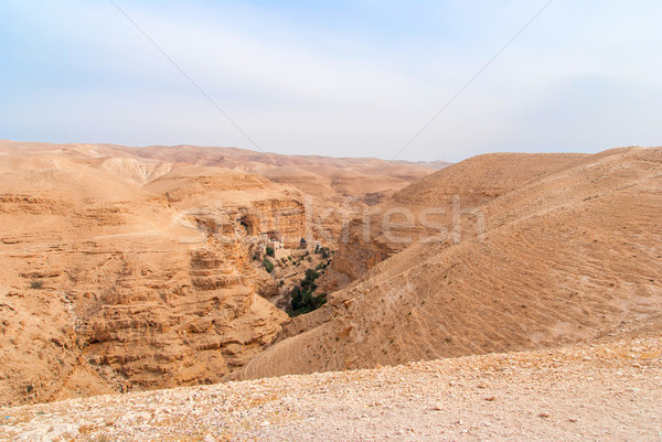 Judean desert Wadi Qelt Stock photo © Zhukow