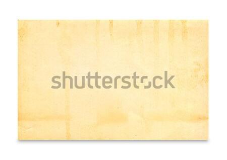 old photo on white background Stock photo © Zhukow