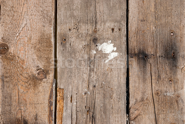 closeup of old wood planks texture background Stock photo © Zhukow