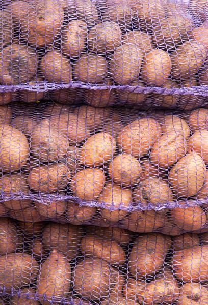 A net-bag with potatoes inside Stock photo © Zhukow