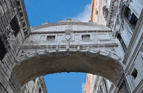 Bridge of Sighs - Ponte dei Sospiri. Venice, Italy, Europe. Stock photo © Zhukow