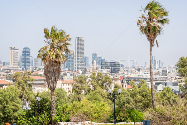 Tel Aviv cityscape, Israel Stock photo © Zhukow