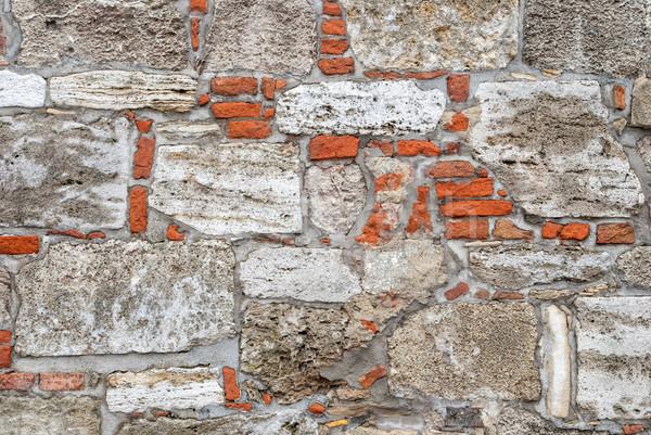Old stone wall Stock photo © Zhukow
