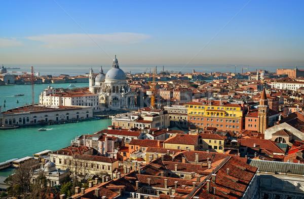 表示 ヴェネツィア 屋根 イタリア 空 ストックフォト © Zhukow