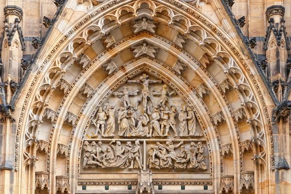 St. Vitus Cathedral, Prague, Czech Republic Stock photo © Zhukow