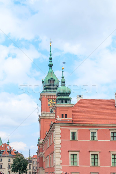 Royal Castle Old Town of Warsaw, Poland. Stock photo © Zhukow