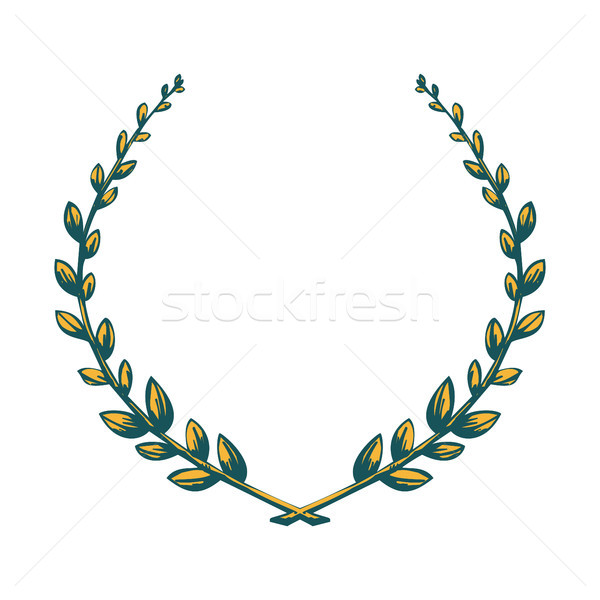Victory laurel wreath. Stock photo © Zhukow