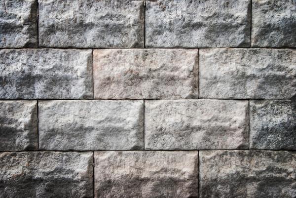 каменной стеной текстуры декоративный дома стены домой Сток-фото © Zhukow