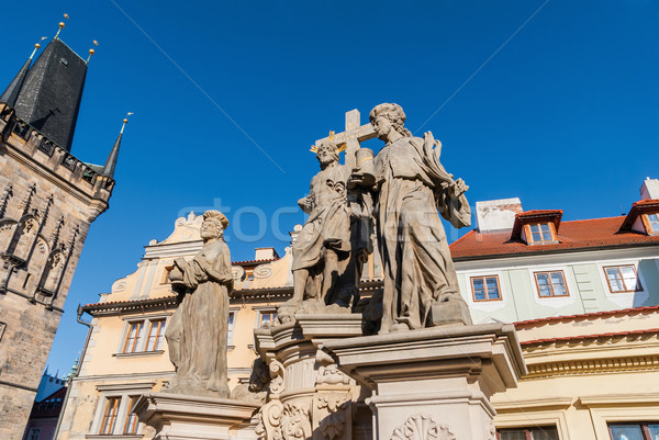 Old Town Prague, Tower at the Charles Bridge Czech Republic Stock photo © Zhukow