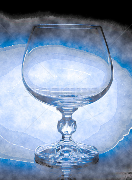 abstract  wineglass and background Stock photo © Zhukow