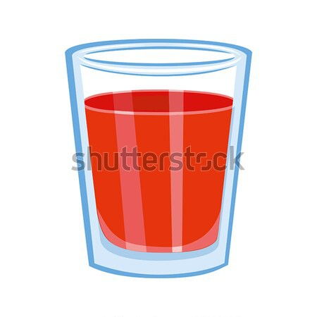 Tomato juice glass. Stock photo © Zhukow