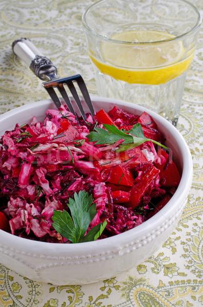 vegetable salad Stock photo © zia_shusha
