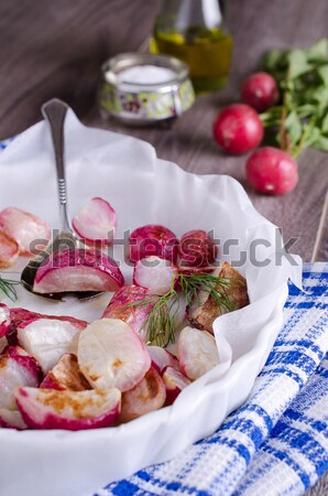 Radis cuit radis forme alimentaire Photo stock © zia_shusha