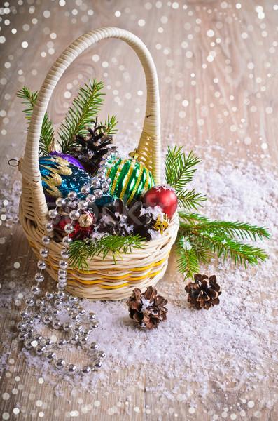 Christmas composition Stock photo © zia_shusha