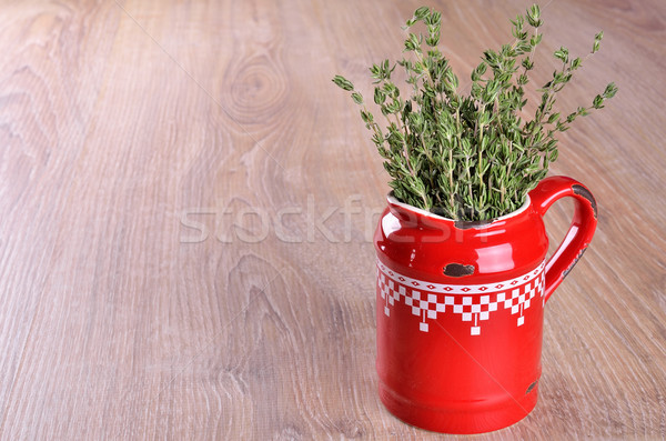 Branches of thyme  Stock photo © zia_shusha