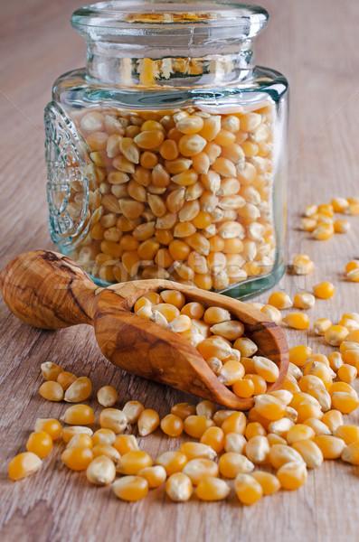 Milho secar comida cozinhar grão Foto stock © zia_shusha