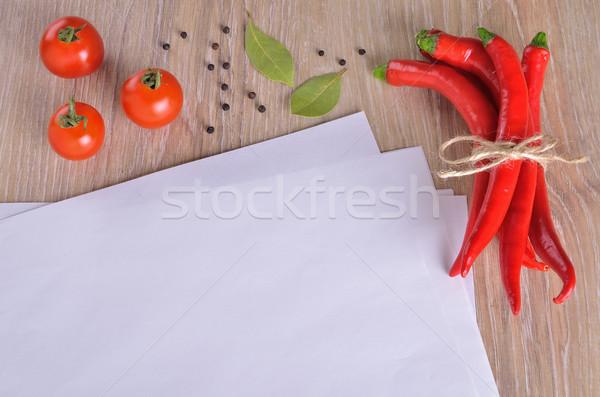 White Pages  Stock photo © zia_shusha