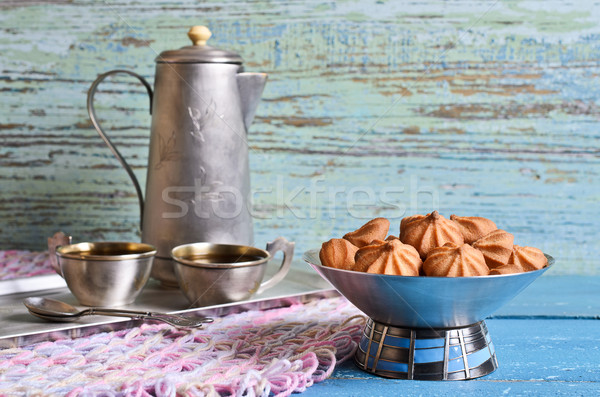 Small cone-shaped cookies Stock photo © zia_shusha
