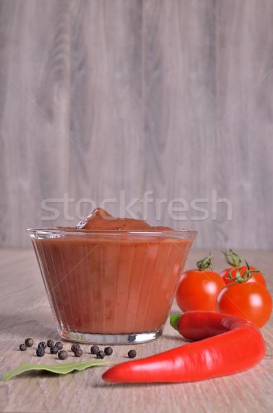 Tomato sauce Stock photo © zia_shusha
